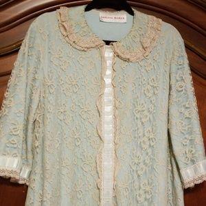 Vintage Lace Robe Circa 1963